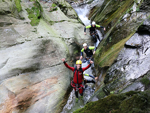 Privater Canyoning Guide